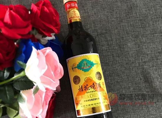 桂花陈酒,记忆中那瓶香飘十里的美酒