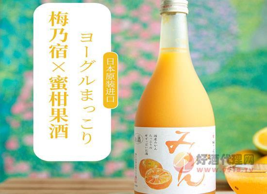 梅乃宿蜜柑酒一瓶多少錢,價格怎么樣