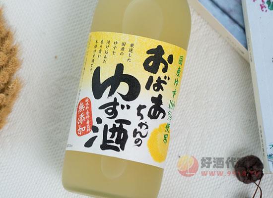 日本外婆家柚子酒怎么样,真正柚子浸渍而成