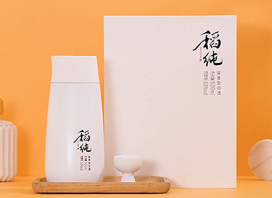 稻純53度新派醬香型白酒價格貴嗎,一瓶多少錢