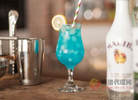 藍色夏威夷雞尾酒怎么樣,魅力是什么