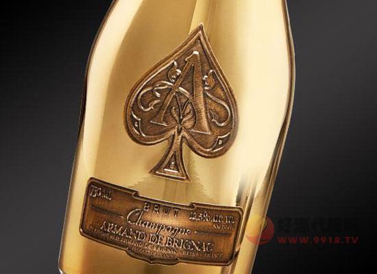黑桃a香檳怎么樣,華麗貴氣的黃金佳釀