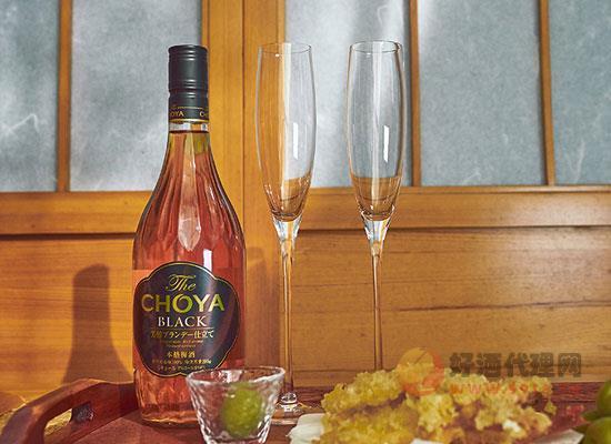 日本蝶矢黑金青梅果酒怎么样,喝起来味道如何