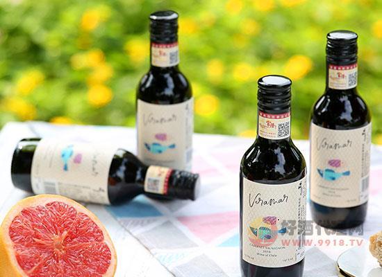 嘉斯山雙魚赤霞珠紅葡萄酒價格怎么樣,小瓶裝一箱多少錢