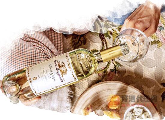 灰皮诺白葡萄酒口感怎么样,搭配方式有哪些