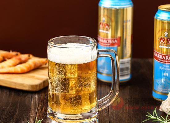 贝里熊牌白啤酒,清爽美味,欲罢不能