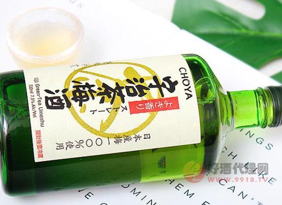宇治茶梅酒為什么這么有名,喝起來怎么樣