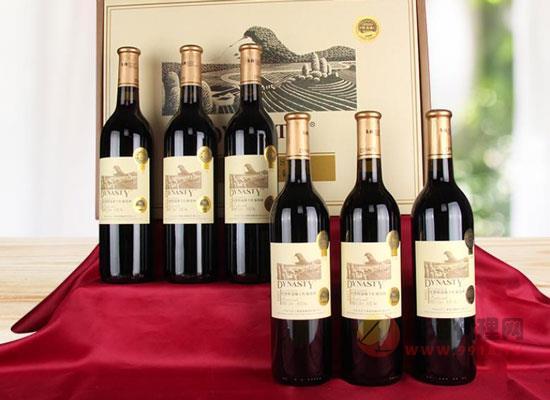 王朝干紅葡萄酒,別具一格的傳奇美酒