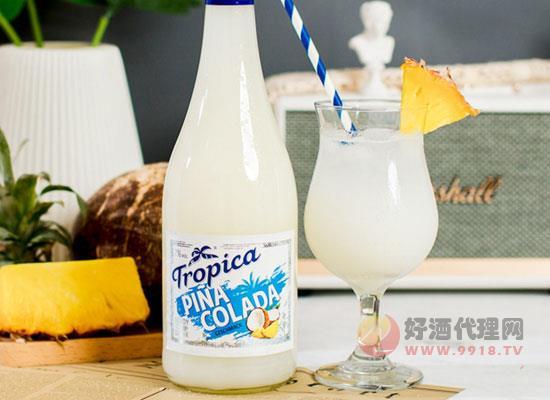 椰林飄香雞尾酒好喝嗎,少女的微醺低度酒
