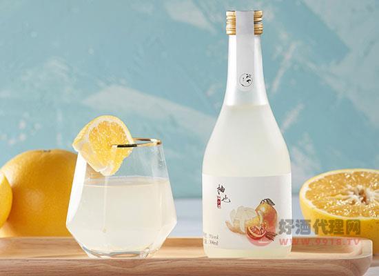 酌也柚子酒價格貴嗎,禮盒裝多少錢