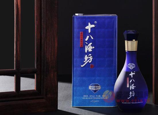 十八酒坊藍鉆價格貴嗎,多少錢一瓶