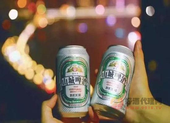 山城啤酒多少度,山城啤酒好喝嗎
