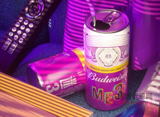 百威ME3果啤好喝嗎,喝起來口感如何