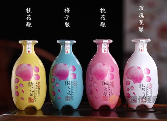 青盞花果酒禮盒的魅力是什么,多種口味,精心甄選