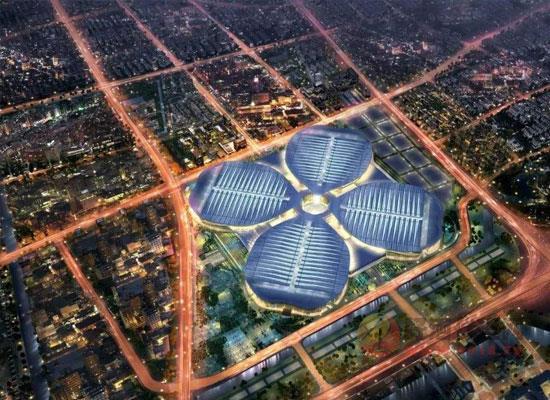 上海國家會展中心附近交通路線