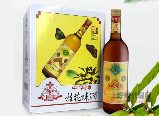 龍徽桂花陳酒價格怎么樣,多少錢一瓶