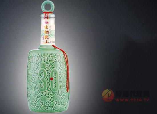古越龍山三十年花雕酒,歲月精釀,卓爾不群