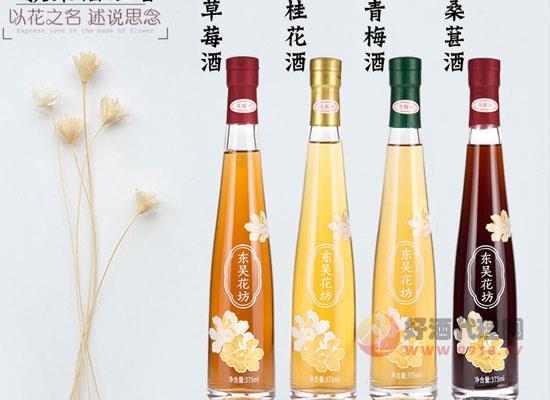 東吳花坊果酒組合價格貴嗎,一套多少錢
