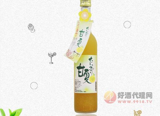 日本原裝果酒價格怎么樣,梅枝柑橘果酒多少錢一瓶