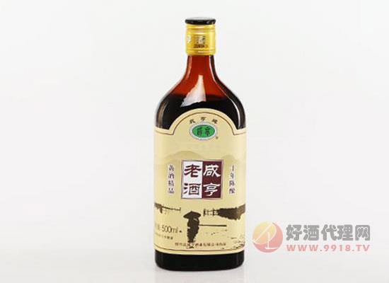咸亨黃酒十年陳釀價格貴嗎,多少錢一箱