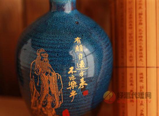 孔府家酒彩陶怎么樣,一款飽含東方文明的美酒