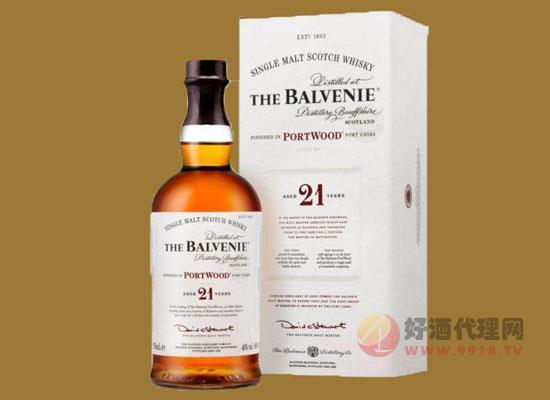 百富蘇格蘭威士忌21年價格貴嗎,多少錢一瓶