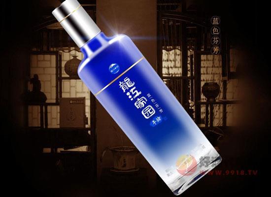 龍江家園酒怎么樣,龍江家園藍色芬芳好喝嗎