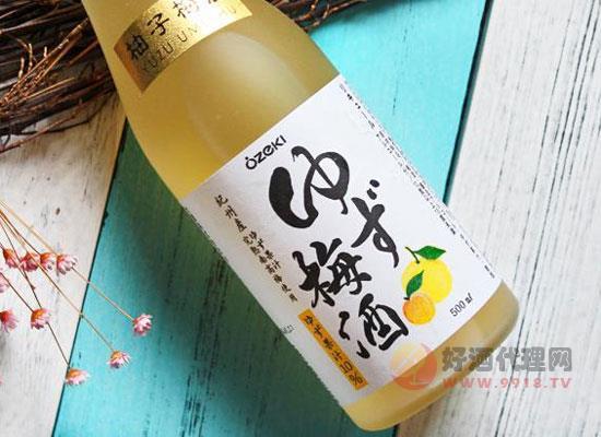 大关柚子梅酒多少钱一瓶,价格怎么样