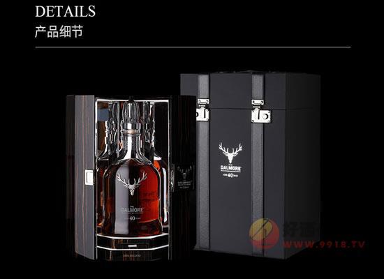 大摩40年蘇格蘭威士忌好喝嗎,香氣濃郁,熟成的藝術