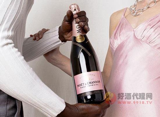 酩悅粉紅香檳口感怎么樣,輕盈誘人,令人沉醉