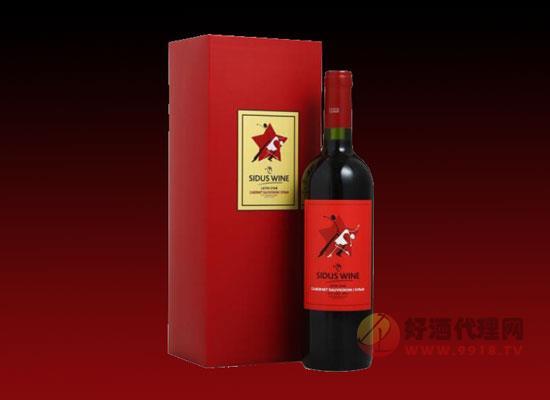星得斯拉丁之星红标红葡萄酒价格怎么样这柔美,多少钱