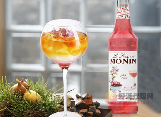 莫林MONIN鹽漬櫻花雞尾酒怎么樣,好喝嗎