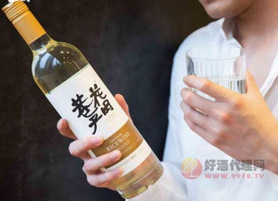 花田巷子桂花米酒,一款地道中國味的精釀美酒
