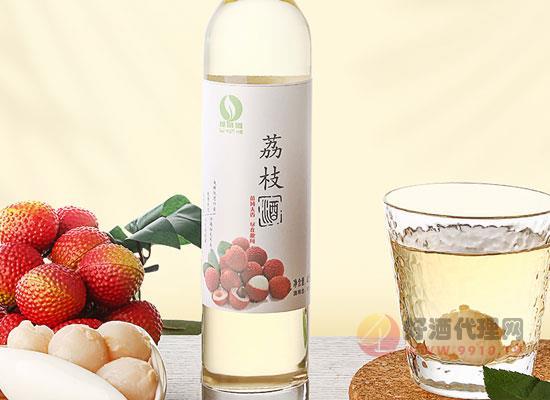 綠蔭河荔枝酒好喝嗎,新鮮美味,微醺不醉