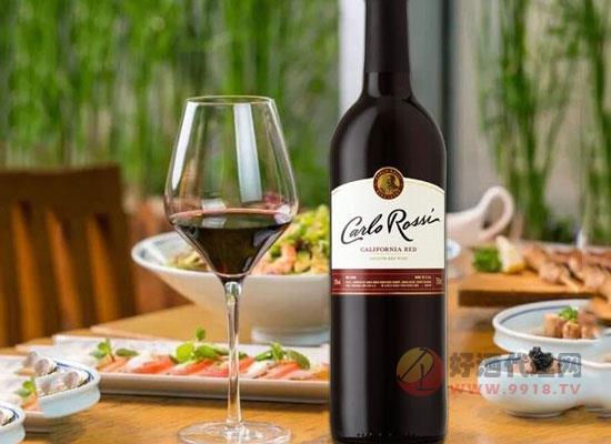 加州樂事紅葡萄酒多少錢一瓶,價格怎么樣