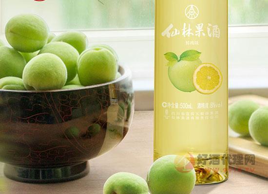 仙林生態青梅果酒價格怎么樣,一箱多少錢