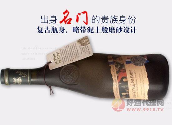 芙华隆河干红葡萄酒,风靡全球的歪脖子红酒