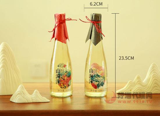 山海津精釀米酒禮盒裝貴嗎,市場零售多少錢