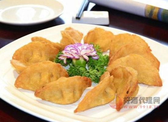 安徽酒博会美食篇之三河米饺