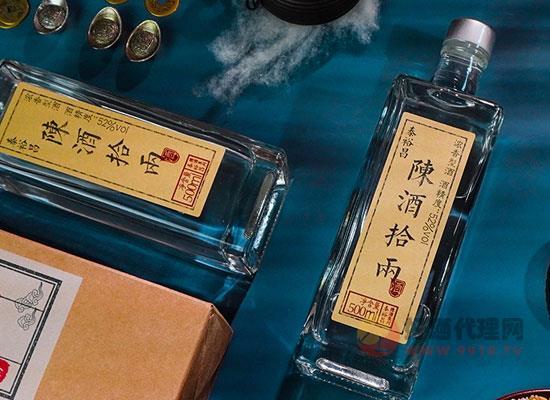 泰裕昌陳酒拾兩的特點是什么,非遺加專利,好喝更暢飲