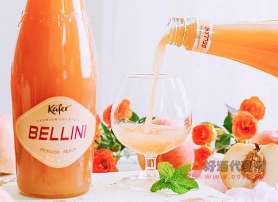 貝利尼桃子酒多少錢一瓶,價格怎么樣
