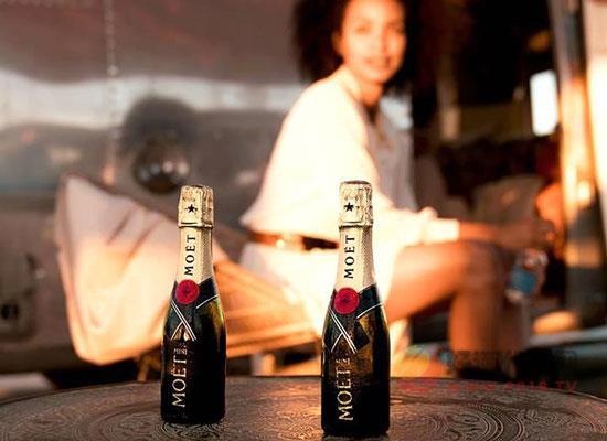 酩悅迷你香檳,小身材大魅力,圣誕暢飲的優選