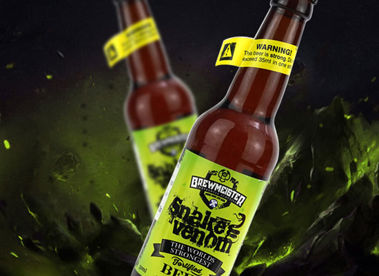 為什么蛇毒啤酒被稱為烈酒,它的酒精度是多少