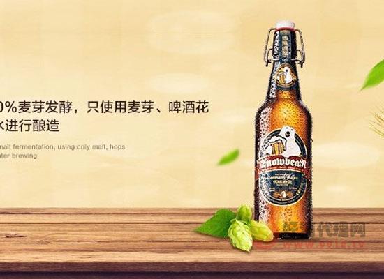 雪熊原浆精酿啤酒好喝吗,喝起来口感如何