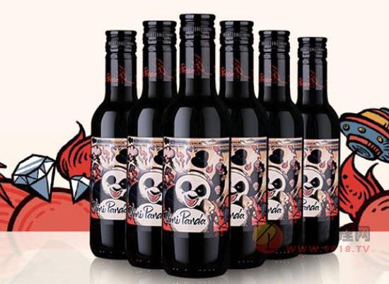 張裕小熊貓紅酒多少錢一瓶,價格怎么樣