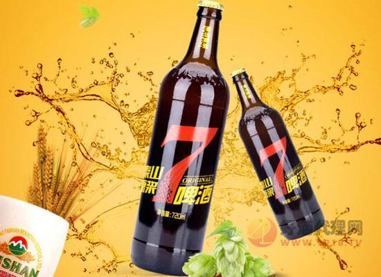 泰山原漿啤酒7天鮮活價格貴嗎,多少錢一瓶
