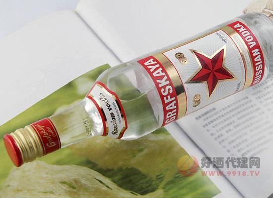格拉夫红牌伏特加好喝吗,兑什么喝口感更佳