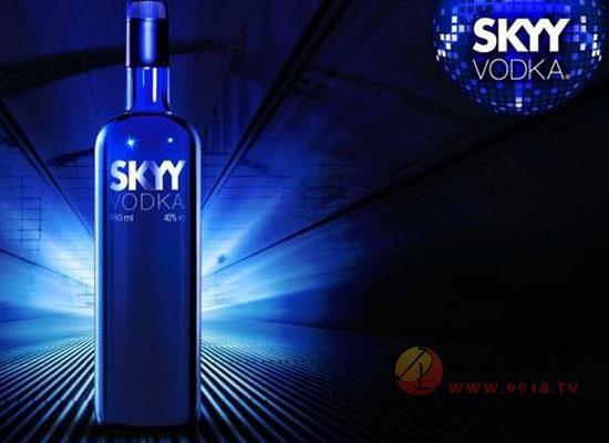 深蓝skyy伏特加度数高吗,应该怎么喝