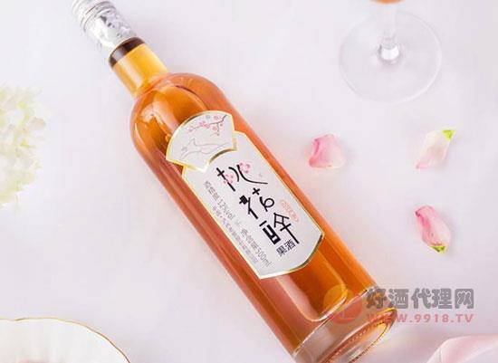 泸州老窖桃花醉酒,浪漫甜蜜,凝练自然之美
