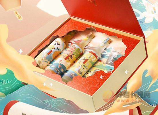 小花样果酒礼盒装的特点是什么,值得入手吗